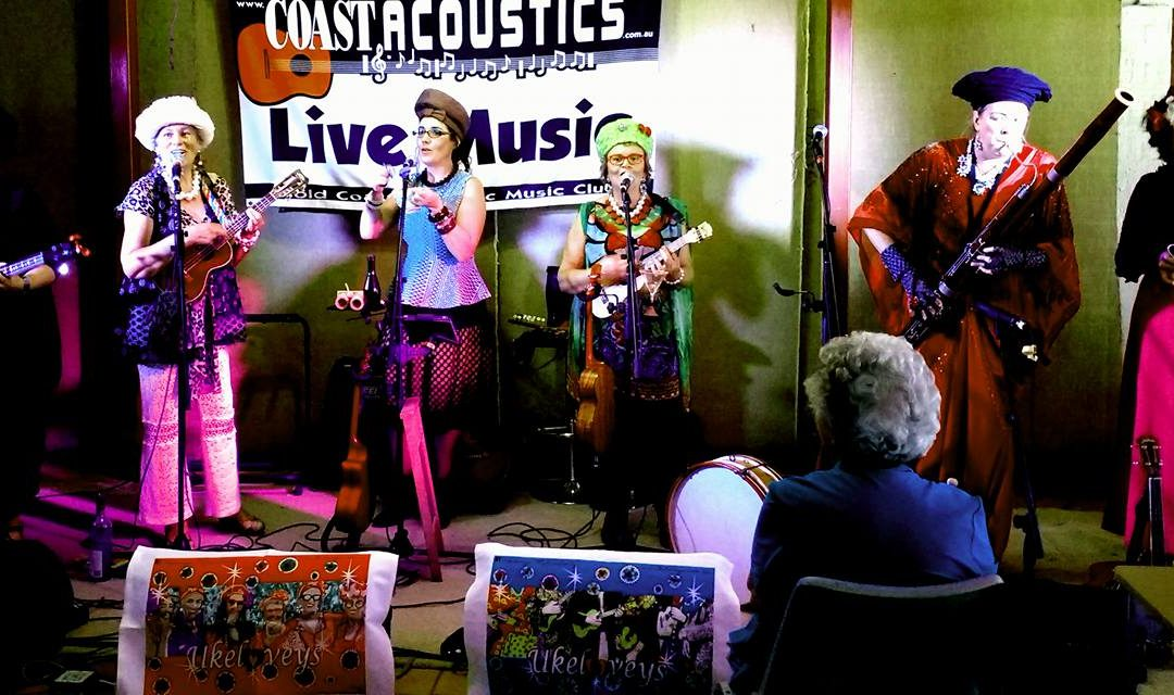 Chilled Out Acoustic Entertainment at the Coast Acoustics Music Festival