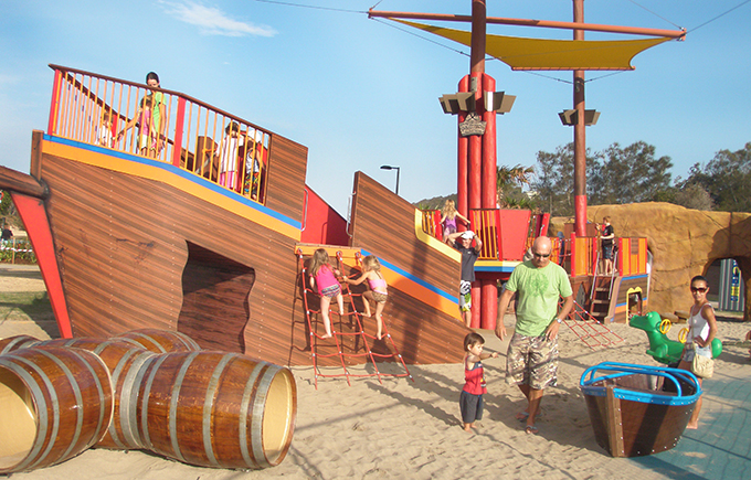 Let the Kids' Imagination Run Wild at Treasure Island at the Palm Beach Parklands