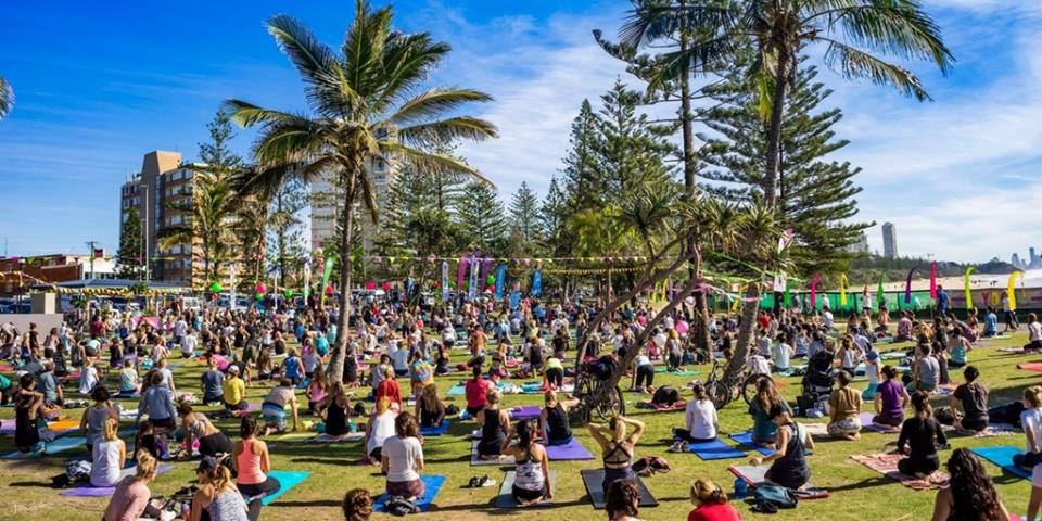 Partake in Yoga in Burleigh Heads this June